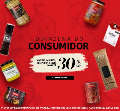 Quinzena do Consumidor - Alimentos